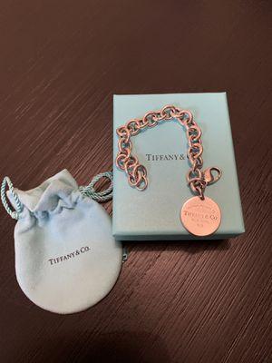 Tiffany & Co Round return to Tiffany tag bracelet for Sale in Peoria, AZ