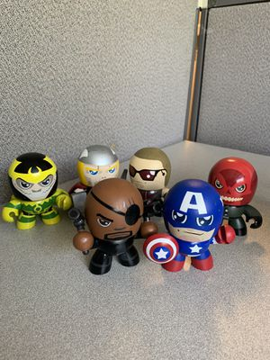 Mighty Muggs Lot captain America, Thor, and more for Sale in Nashville, TN