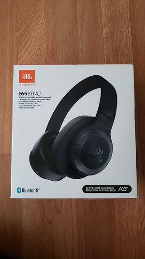 JBL E65 BTNC wireless over-ear noise cancelling headphones for Sale in Long Beach, CA