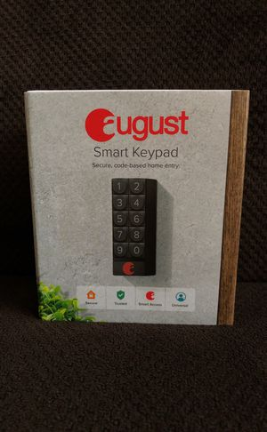 August Smart Keypad for Sale in Greensboro, NC