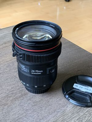 Canon 24-70 II L-series f2.8 for Sale in San Francisco, CA