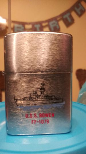 Zippo Navy U.S.S. BOWEN FF-1079 for Sale in North Charleston, SC