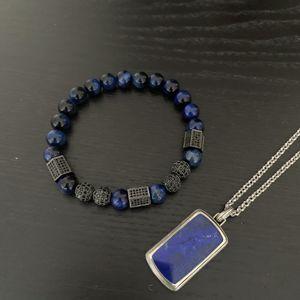 Men's beaded bracelet (blue) for Sale in New Rochelle, NY