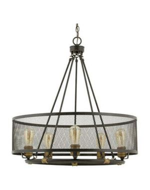 Big size Heritage Collection 6-Light Forged Bronze Chandelier for Sale in Glendale, AZ