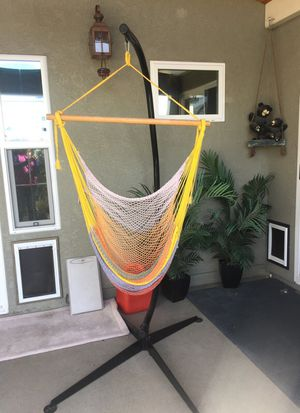 Hammock's with Solid Steel Construction for Hammock Air Porch Swing Chairs. for Sale in San Diego, CA