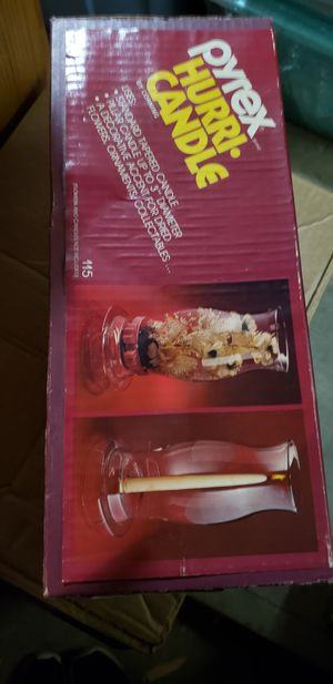 Pyrex Hurri Candle NEVER OPENED for Sale in Newtown, CT