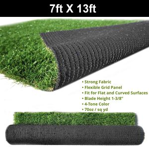 New 7x13ft artificial grass turf 70oz synthetic 4 tone color for Sale in Riverside, CA