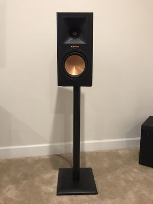 Pair of Klipsch Reference Premier 160M with speaker stands for Sale in Clarksburg, MD
