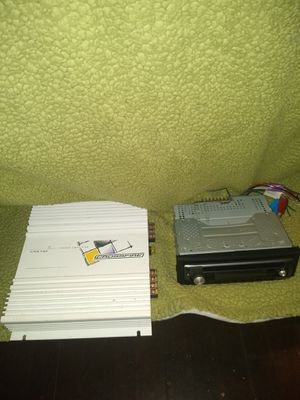 Kenwood CD deck and 140 amplifier for Sale in North Chesterfield, VA