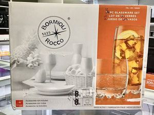 Glassware Set 12 Pcs Juegos de 12 Vasos Bormioli Rocco for Sale in Miami, FL