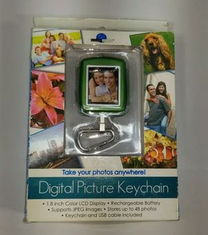 Digital Decor Digital Picture Keychain 1.8 inch for Sale in Grand Rapids, MI