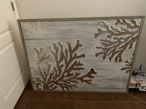 Metallic coral painting for Sale in Laveen Village, AZ