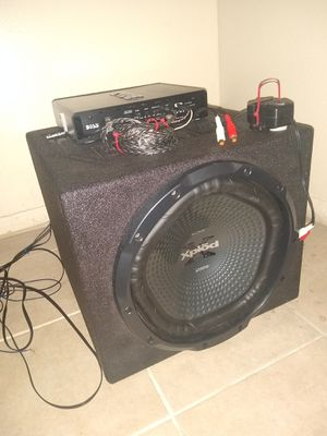 Sony 1200W With Boss Amp for Sale in Tulsa, OK