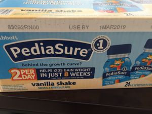 19 pediasure bottles for Sale in Ashburn, VA