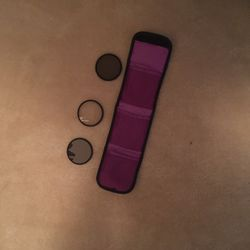 3 Camera Lens Filters With Sleeve Case for Sale in Katy,  TX