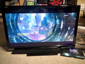 "60"" Sharp 1080p TV & Sony Blu-ray Surround Sound for Sale in Mesa, AZ"