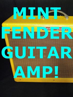 """FENDER HOT ROD DELUXE GUITAR AMP — CUSTOMIZED, 40 WATT TUBE AMP, 1x12"""" TWEED Please see the multiple pictures of this item and peek at the 40+ othe for Sale in Glen Ellyn, IL"""