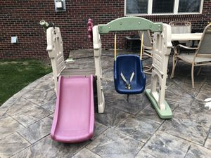 Little tikes swing and slide for Sale in Taylor, MI