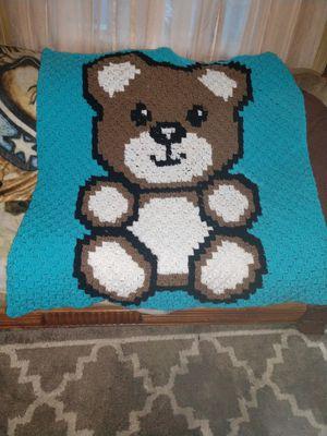 Handmade teddy bear blanket for Sale in Dundalk, MD