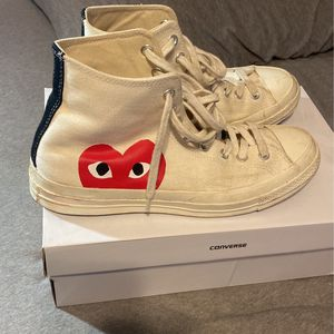 CDG Converse High Top Size 10 for Sale in Santa Ana, CA