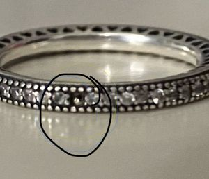 Pandora ring size 7 for Sale in Lehigh Acres, FL