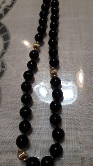 17 inch black n 14k necklace for Sale in La Puente, CA