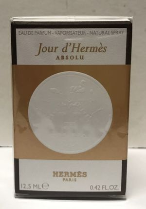 Hermes Jour d'Hermès Absolu Eau de perfume .42 oz Travel size perfume brand new sealed for Sale in Herndon, VA