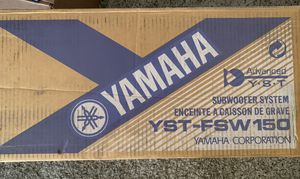 Yamaha YST-FSW150 subwoofer for Sale in Vista, CA