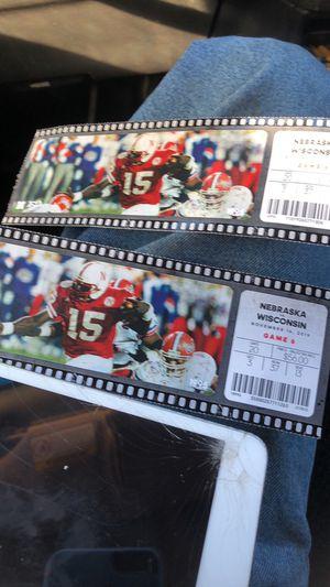 Husker tickets for Sale in Lincoln, NE