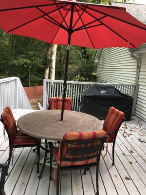 Patio table, chairs and bench for Sale in Dunwoody, GA