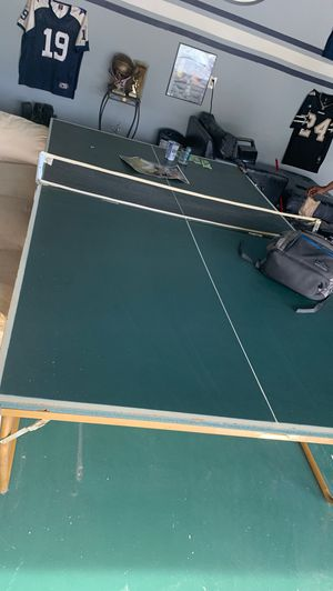 Ping Pong Table w/ Ping Pong sets for Sale in Dallas, TX