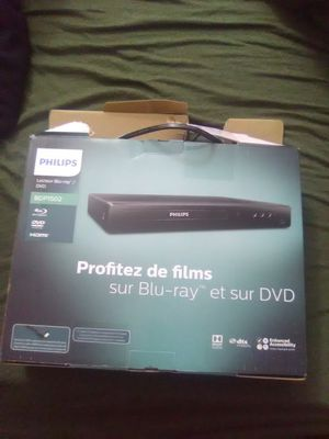 Phillips blu ray dvd player for Sale in Portland, OR