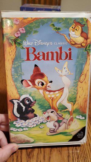 VHS - Bambi for Sale in Las Vegas, NV
