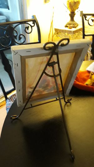 Little canvas stand for Sale in Corona, CA