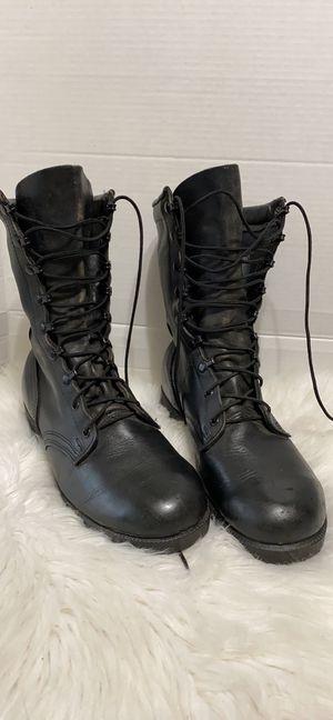 Men work combat boots size 10 wide for Sale in Dearborn, MI
