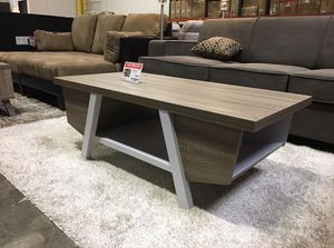 Coffee Table, Dark Taupe & White, #161821 for Sale in Downey, CA