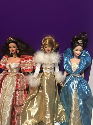3 collector Barbie's for Sale in Garland, TX