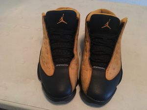 Jordan 13s (black and gold) for Sale in Fresno, CA