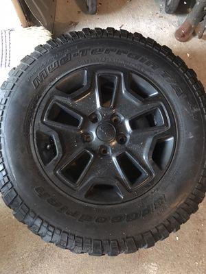 Jeep jk wheels for Sale in Malden, MA