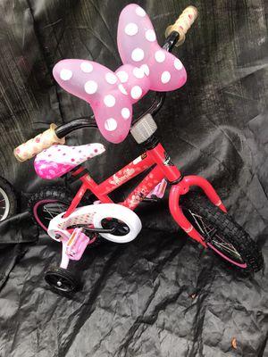 "Disney Minnie Mouse 12"" Girls Bike by Huffy for Sale in Savannah, GA"