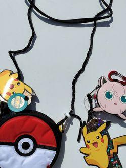 Levi's x Pokemon Crossbody + Clip On Mini Bag for Sale in Long Beach,  CA