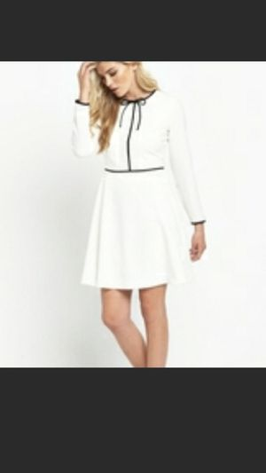 NWT Ted Baker Black Bow white dress for Sale in Herndon, VA