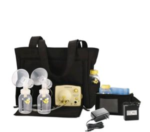 Medela pump in style double electric breast pump with on-the-go tote bag for Sale in Jersey City, NJ