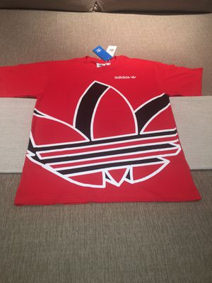 Adidas Originals Big Trefoil S/S T-Shirt -(Size Small) for Sale in Ontario, CA