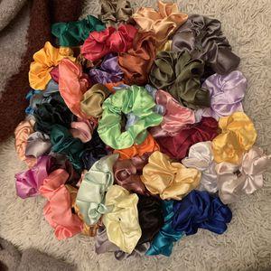 Velvet and Satin Scrunchies. (A piece) for Sale in El Dorado, AR