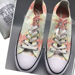 Converse women's size 7 brand New cute flowers design spring-summer for Sale in Tinton Falls, NJ