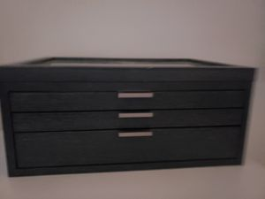 Wooden Navy Blue Jewelry Box for Sale in Washington, DC