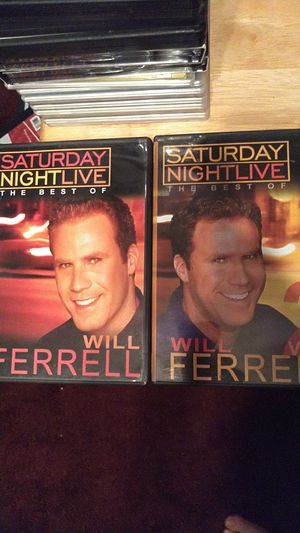 SNL Best of Will Ferrell Vol 1&2 for Sale in Rancho Cucamonga, CA