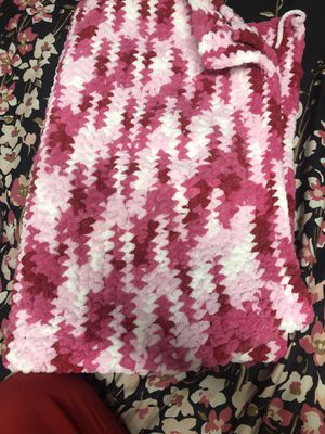 Hand Crochet Baby Blanket for Sale in San Jose, CA