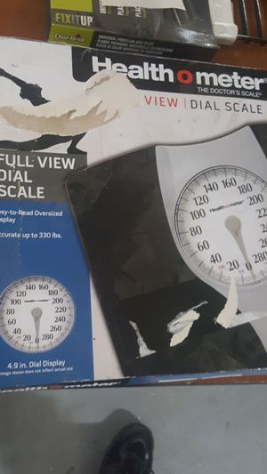 Health o meter view dial scale for Sale in Detroit, MI